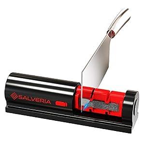 Afilador de cuchillos profesional con 2 uds piedra afilar incluidas afilador cuchillos valido para afilado de todo tipo de cuchillos