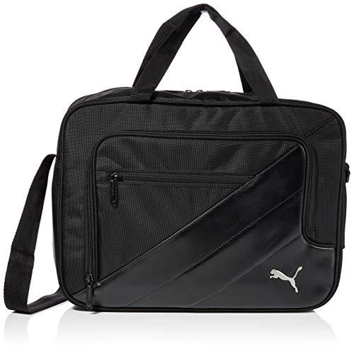 PUMA TEAM Messenger Bag Tasche, Black, 41 x 30 x 14 cm