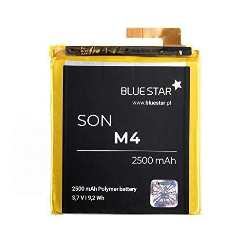 Bluestar Akku Ersatz kompatibel mit Sony Xperia M4 Aqua 2500 mAh Austausch Batterie Accu LIS1576ERPC