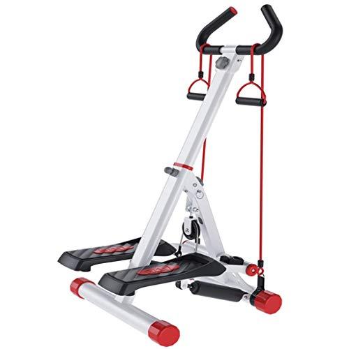 LZP-PP Paso a paso de los hogares plegable Silencio máquina de pesas Pérdida de escalada de la máquina in situ pie de la máquina Gym Fitness Equipo de soporte de peso de 120 kg regalo for la familia (