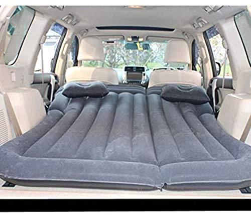JIAMING Travel bed Travel Bed Car Air Mattress, Portable Mobile Buggy Sleeping Pad, Self-driving Travel Bed Outdoor Sports Car Inflatable Bed 5-23 (Color : J) (Color : B