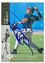 Autograph Warehouse 80719 Tony Tarasco Autographed Baseball Card Atlanta Braves 1994 Upper Deck No .206 Electric Diamond