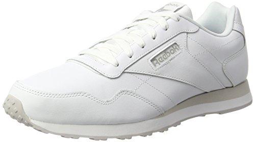 Reebok Royal Glide LX, Zapatillas Hombre, Blanco (White/Steel), 45 EU