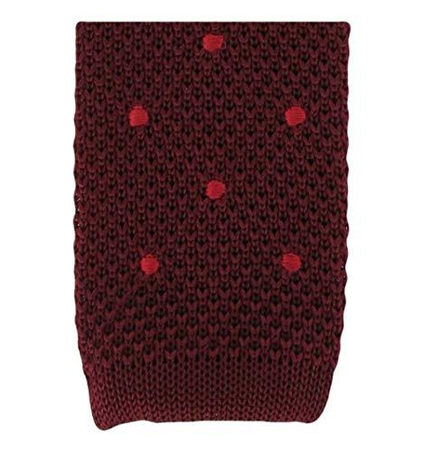 Michelsons of London Vin/Tache Rouge de conception cravate de