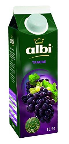 Albi Gold Trauben-Saft Rot 100%, 6er Pack (6 x 1 l Packung)