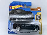 2020 Hot Wheels Range Rover Velar Black 3/5 HW Turbo 119/250 (Short Card)