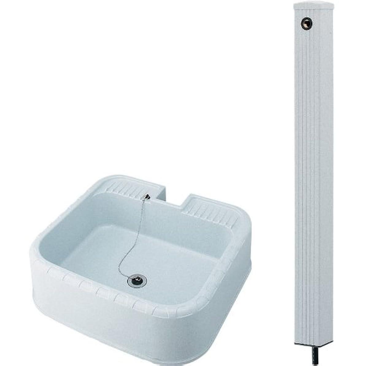 簿記係悲しいフラップKAKUDAI/カクダイ 624-076(水栓柱?80角) + 624-926(水栓柱パン) セット