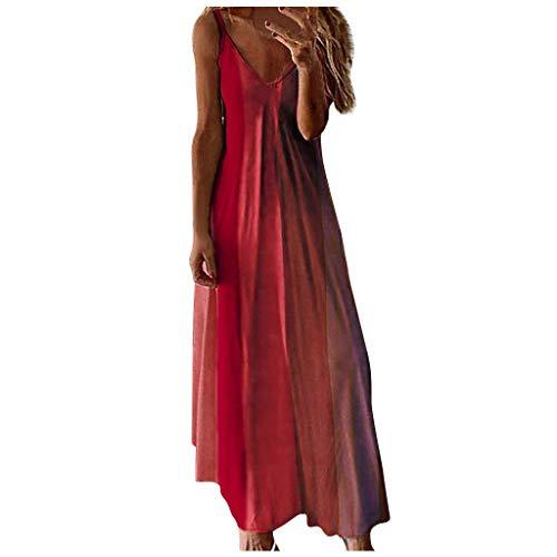 Shirtkleider Damen Mittelalter Kleidung Damen Cocktailkleid Sommer Kleider Fahrradbekleidung Sommerkleid Damen Leicht Jeanskleid Kleiderschrank Stoff Kleid Unterkleid Kleider Sommer(rot,4XL)