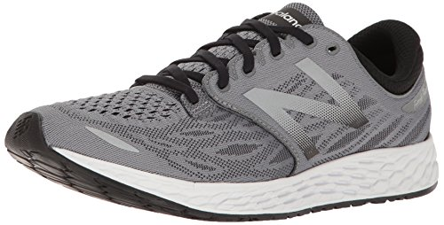 New Balance Men's Fresh Foam Zante V3 Running Shoe, Gunmetal/Black, 12.5 D US