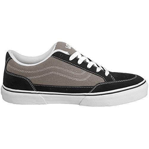 Vans Bearcat Mens Size 7.5 / Womens 9 Black Charcoal Grey Skateboarding Shoe