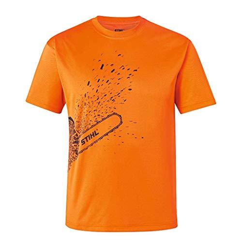 Stihl Herren T-Shirt Dynamic MG COOL, Warnorange, m