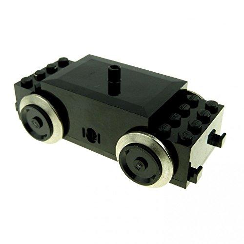 1 x Lego Electric Motor 9V schwarz Eisenbahn Zug Lok für Cargo Railway Krokodil Lokomotive Metroliner Train geprüft 590