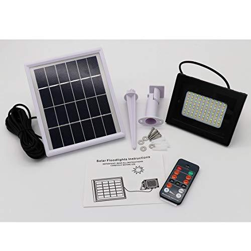 PANNELLO solare di ricambio per JUSTOP 100 LED PIR Sensore inondazione di luce di sicurezza