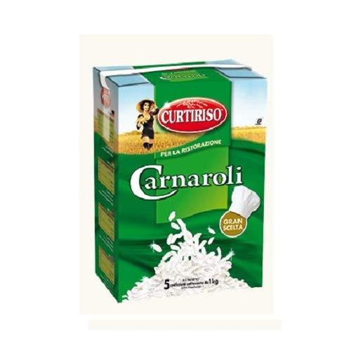 Curtiriso Riso Carnaroli-Reis Pun jab 5 Beuteln 1 kg Italienisch Reis