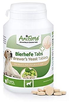 La force de la nature - 100% pure levure de bière, Pure Natural pour votre animal de compagnie. Parfait pour votre chien Pour un pelage brillant et résistant, une peau vitale, un important fournisseur de vitamines, de minéraux et d'autres substances ...
