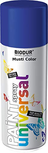Pintura en aerosol para llantas, color azul ultramarino RAL5002