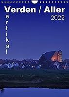 Verden / Aller - vertikal (Wandkalender 2022 DIN A4 hoch): 13 vertikale Ansichen aus Verden an der Aller (Monatskalender, 14 Seiten )