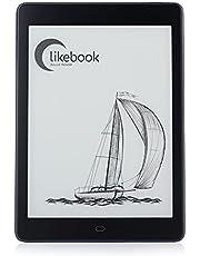 """Likebook P78,電子書籍リーダー、7.8 """"(1872 * 1404)Eink Cartaタッチスクリーン、クアッドコア2GB + 32GB、内蔵コールド/ウォームライト/可聴および出力スピーカー、Android 8.1、OTG / USBCをサポート"""