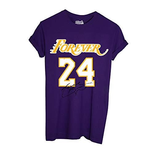 MUSH T Shirt Viola- Forever 24 - Kobe Bryant - Los Angeles Lakers, Donna-M