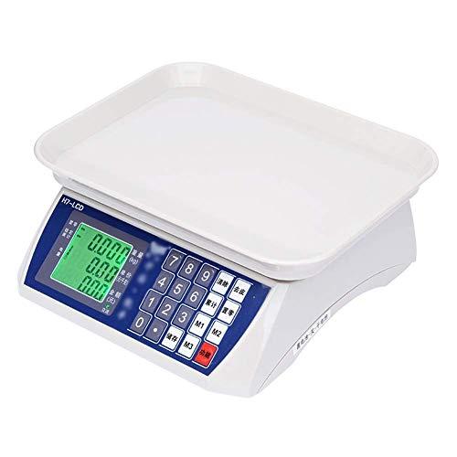 LIANYANG Küchenwaage Digitale Präzise Elektronische Küchenwaage Gemüsewaage 30kg ABS Kunststoff
