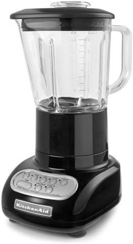discount KitchenAid 5-Speed Blender high quality with lowest Glass Blender Jar, KSB565: Black (Renewed) sale