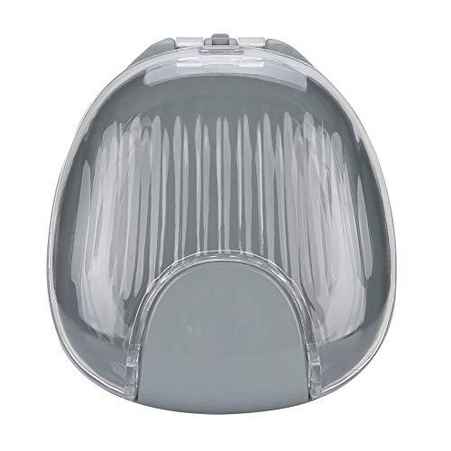 Estuche De Retenedor De Ortodoncia, Buzón De Correo Impermeable Protector Bucal Retenedor De Ortodoncia Contenedor De Gran Capacidad Fácil De Usar Para Mantener Su Protector Bucal(Fondo gris gris)