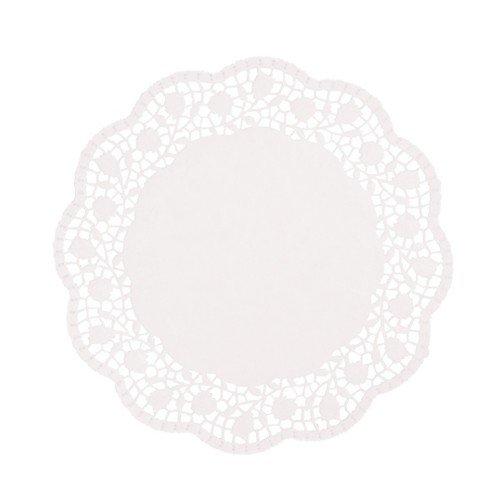 Papstar Tortenspitzen weiß, Ø 25cm (100 Stück)