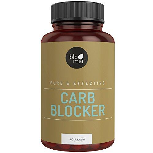 Carb Blocker | Fat Burner - effektiver und natürlicher Kohlenhydratblocker mit Bockshornkleesamen - 1-Monatskur - 90 Kapseln á 700mg F-BRN