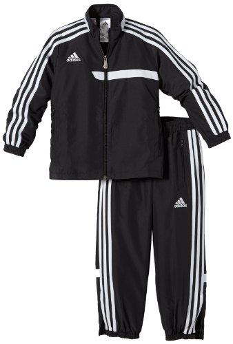 adidas Unisex - Kinder Trainingsanzug Tiro 13, black/white, 164, Z20606