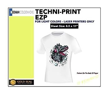 Techni-Print EZP Laser Heat Transfer Paper 8.5 x11  100