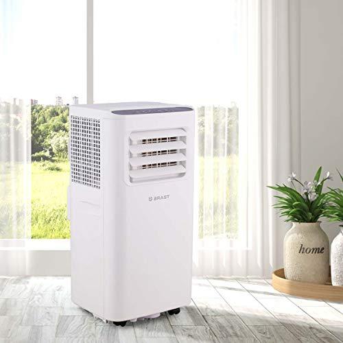 Mobile Klimaanlage EEK A 2,0kW   Räume bis 26 qm   Kühler und Entfeuchter   7.000 BTU   Energieklasse A   BRAST