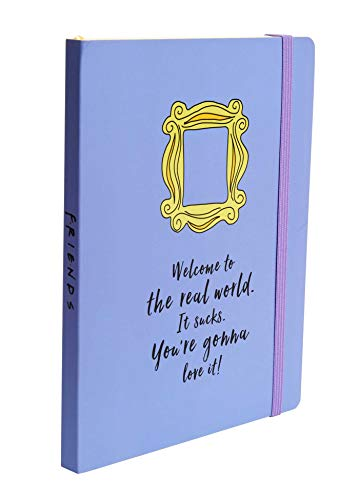 Friends: Yellow Frame Softcover Notebook