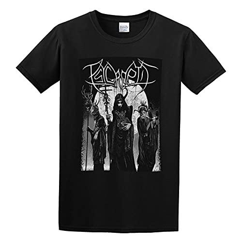 Psycroptic 3 KingsDeath Metal Band Graphic Top Printed Shirt Short Sleeve tee Mens T Shirt Black 3XL