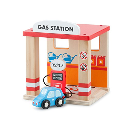New Classic Toys - 11042 - Tankstelle mit Auto