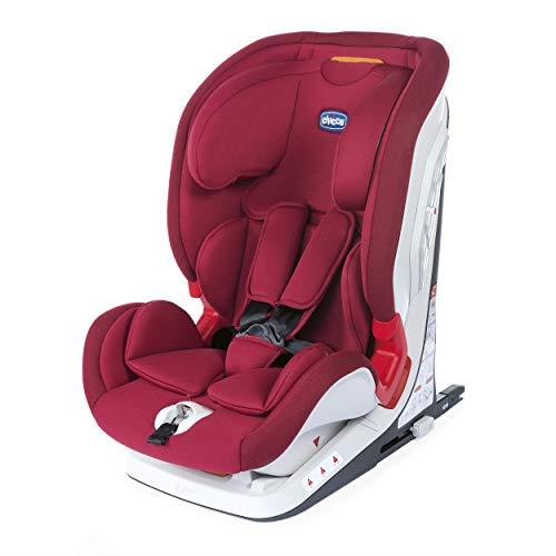 Chicco Youniverse Fix Seggiolino Auto 9-36 kg Reclinabile ISOFIX, Gruppo 1/2/3 per Bambini da 1 a 12 Anni, Facile da Installare, con Protezione...