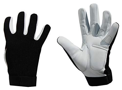 LISAR Vollfinger Kraftsport Handschuhe / Trainingshandschuhe- Fitness Handschuhe Herren und Damen - einsetzbar als Sporthandschuhe, Gym Handschuhe, Gewichtheber Handschuhe, Fitness Handschuhe. (L)
