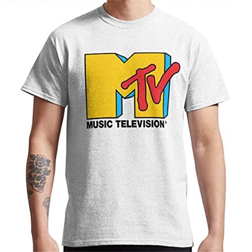 HUANG MTV Music Television Logo Classic Camiseta
