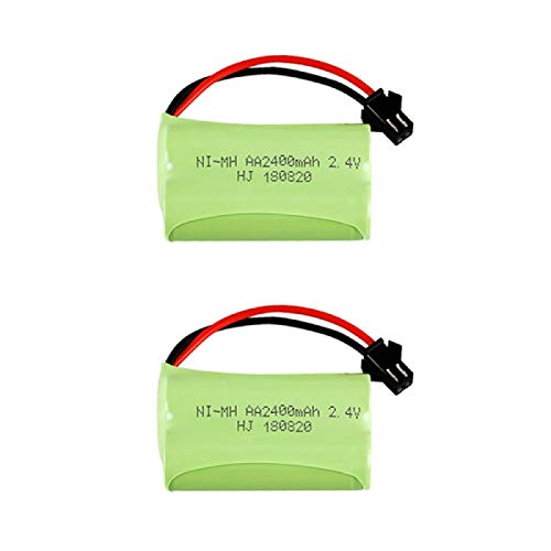 RFGTYH 2.4V 2400mAh baterie Pack batería AA para RC Juguete eléctrico Herramienta...