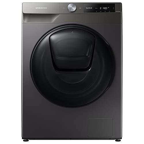Samsung WD90T654DBN/S1 Freestanding Washer Dryer with Addwash™ and ecobubble™, 9kg Wash/6kg Dry Capacity, 1400rpm Spin, Graphite