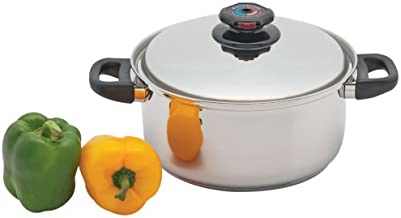 Precise Heat 5-1/2-Quart Surgical Stainless-Steel Stockpot
