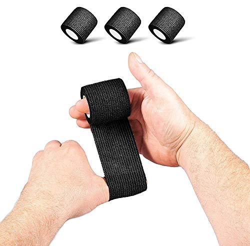 REP AHEAD® Finger Tape (3 Stück) - Selbsthaftendes innovatives Sport-Tape für optimalen Grip - Perfekt für Fitness, Gym, Gewichtheben, Bodybuilding, Kraftsport, Turnen, Calisthenics