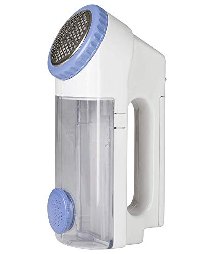 Windmere Fabric and Clothes Shaver - Electric Lint, Pill and Fuzz Remover - Professional Size Head - Battery Operated