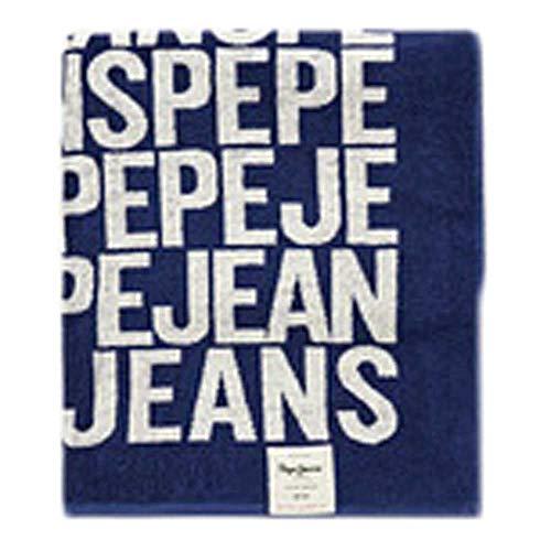 Pepe Jeans Toalla Playa Tomas Azul Hombre y Mujer Unica Azul