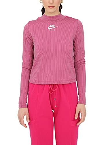 Nike Jersey de punto para mujer, fucsia, CZ8634 531 fucsia S
