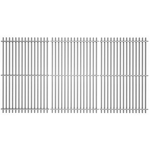 Uniflasy Cooking Grates Replacement Parts for Homedepot Nexgrill 720-0896B 720-0896 720-0896E 720-0896C 720-0896CP 720-0898 720-0898A Gas Grill 17 inch Stainless Steel Grates Replacement Parts, 3 pack