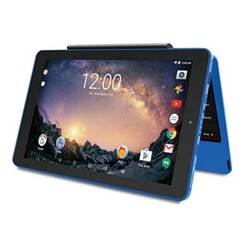 Product Image 1: 2018 Premium High Performance RCA Galileo Pro 11.5″ Touchscreen Tablet Computer with Detachable Keyboard, Intel Quad-Core Processor 1GB Memory 32GB SSD Webcam WiFi Bluetooth Android 6.0, Blue