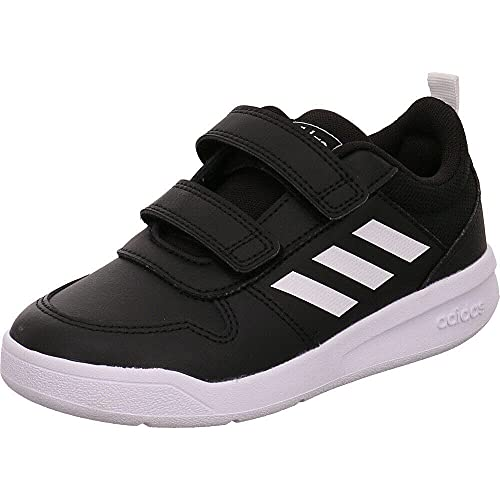 Adidas Tensaur C, Zapatillas de Running, Noir Blanc Noir, 32 EU