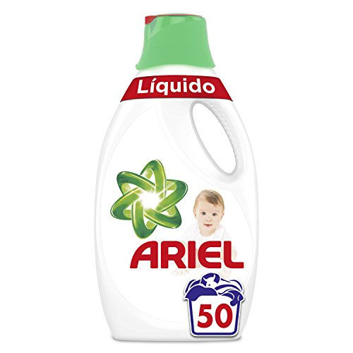 Ariel Baby - Detergente Líquido 2.75l, 50Lavados