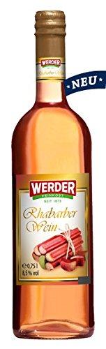 WERDER Rhabarber Wein 0,75 l Alk. 8,5% vol