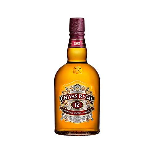 Chivas Regal 12 Jahre Premium Blended Scotch Whisky – 1 x 1 L
